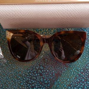 Jimmy Choo tortoise sunglasses NWT